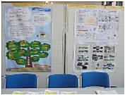 夏の学校展示の様子